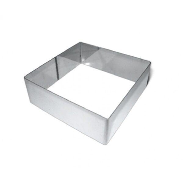 Форма металлическая квадрат 200*65.