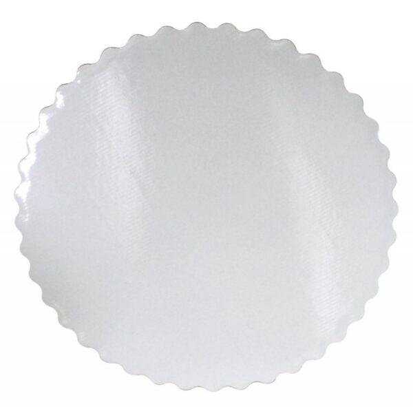Подложка Ромашка белая двухсторонняя усиленная d 28 мм.