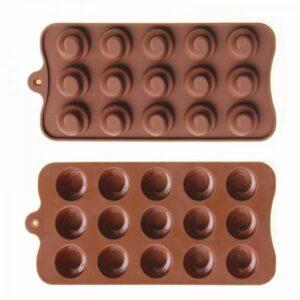 Форма силиконовая для льда и шоколада.