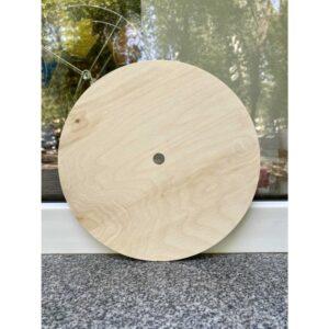 Подложка деревянная d24