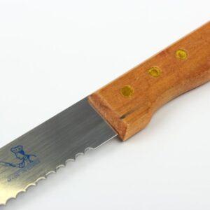 Нож для бисквита с широкими зубчиками, 30 см.