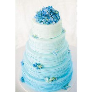 Краситель гелевый голубой Top decor, 100г.