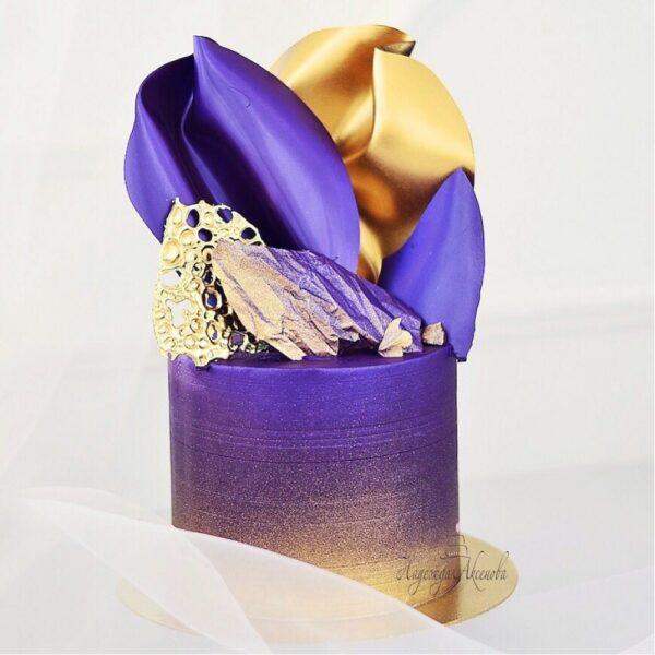 """Кандурин плотный """"Супер блеск"""" фиолетовый, 10г."""