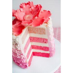 Краситель гелевый розовый Top decor, 100г.