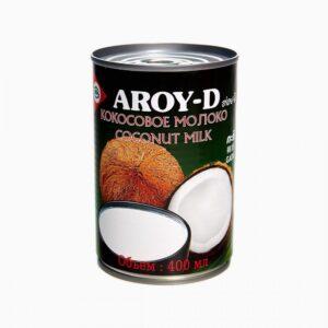 Молоко кокосовое Aroy - D 60% 18,5%, 400 мл.