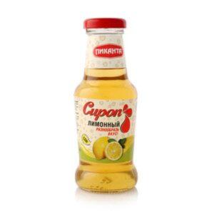"Сироп ""Пиканта"" лимонный, 250 мл."