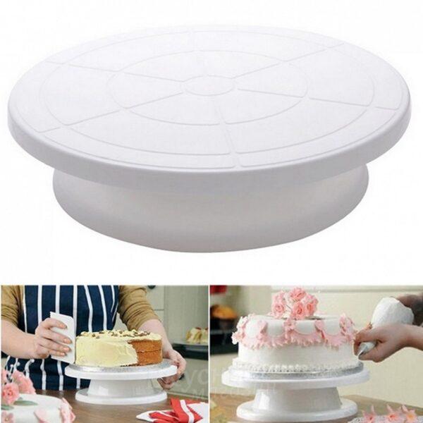 Подставка для торта вращающаяся, 28 см.
