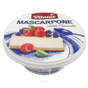 "Сыр маскарпоне ""Vitalat"", 250 г."