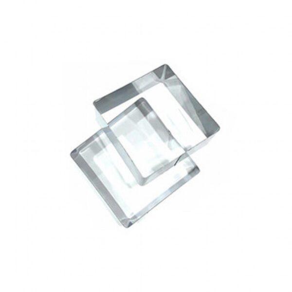 Форма металлическая квадрат 250*50.