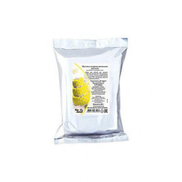 Мастика ванильная желтая 0,6кг