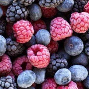 Замороженные ягоды, пюре